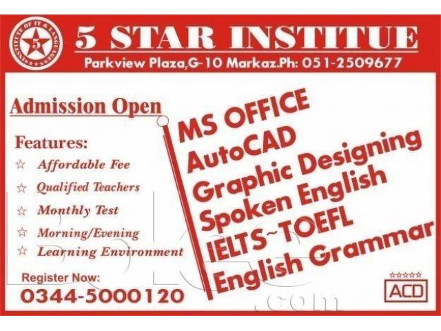 IELTS A1 Life Skills Test with 5 Star Institute G10 Markaz