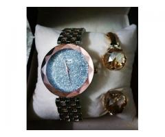 Watch And Bracelet By Dior Combo Low Price For Sale With Home Delivery