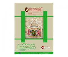 Wilcom Embroidery advance Level Training in Embroidery Designing.