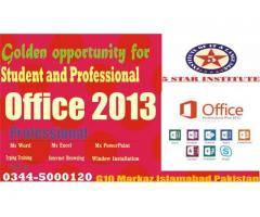 Office Automation , Ms office 2013 Professional Course with 5 Star Institute