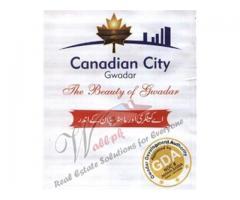 Canadian City Gwadar Commercial Plots & Residential Plots On Installments