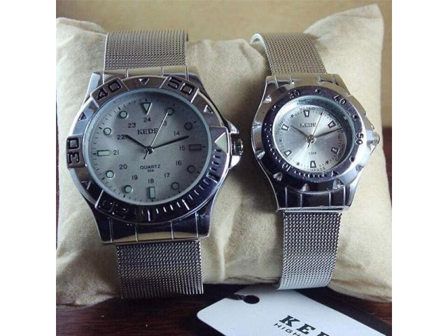 Stylish Pair Of Couple Watches By Kede Quartz For Sale With Home Delivery