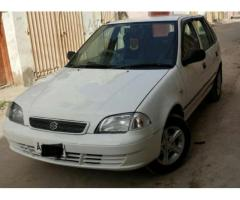 Suzuki Cultus Model 2004 White Color Original engine For Sale In Quetta