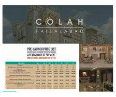 ChenOne Luxury Apartments And Homes Faisalabad Payment Schedules