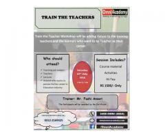 Train the Teacher - Workshop
